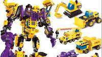 超级飞侠和奥特曼变形机器人赛车玩具