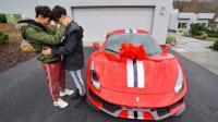 熊孩子送惊喜, 350万新跑车送爸妈! 爸妈: 你这是帮自己挑礼物吧