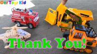 汽车玩具修理飞机, 挖掘机种树, 婴幼儿宝宝玩具游戏视频G43