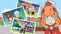 王者荣耀搞笑小动画: 公孙离感情受伤了! 原来爱情面前, 亲情更重要