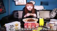 「大胃王mini」深夜饿货出没, 足不出户自制大盘美味拌饭