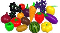 认识不同种类的水果蔬菜