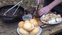 一群男人的丛林美食, 美味的牛排这样烧才好吃