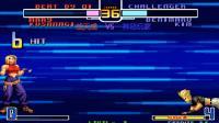 拳皇2002: 全主力的战天成有多可怕? 连续的隐藏技秀哭神秘玩家