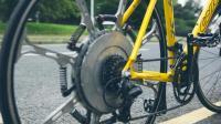 不用电的助力自行车, 车轮结构太精妙, 能转化动力骑起来不费劲