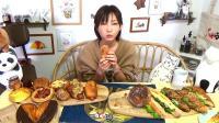 大胃王木下佑香: 品尝法国保罗面包店的20种美味面包