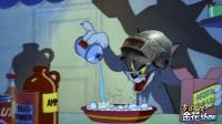 猫和老鼠四川话搞笑: 汤姆猫为了抓老鼠变身化学博士, 笑了还想笑!