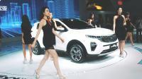 2018广州车展 起亚车模走秀