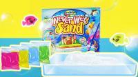 神奇水下塑形沙 小佟哥哥分享永远都不会湿的沙子玩具