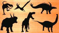 认识三角龙等7种恐龙