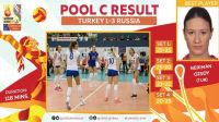 2017.09.23 土耳其 1-3 俄罗斯 - 2017女排欧锦赛
