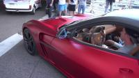 法拉利599 GTB菲奥拉诺曼诺斯史泰龙, 排气声音听着就不错