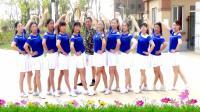 建群村广场舞单人水兵舞《隔壁的女孩》集体版编舞陈雪2018年最新广场舞带歌词