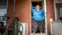 女子迷恋丰满臀部, 臀围达2.5米, 梦想拥有世界上最大的臀部!