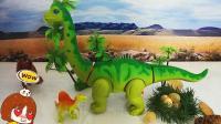 组装会生蛋恐龙玩具