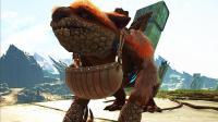 【虾米】方舟生存进化: 灭绝05, 史诗装备! 无敌嘎查, 守卫战成功