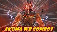 Tekken 7 S2 Akuma WB Combos _ PS4