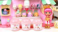 香琅宝宝酸奶盒惊喜盒拆出可爱护唇膏和指甲油