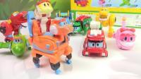 帮帮龙出动之恐龙探险队变形玩具