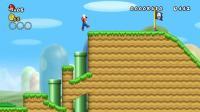 新超级马里奥兄弟Wii  1期 第1大陆 1-1关