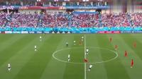 英格兰集锦2018世界杯, 超赞的对决, 守门员这一球接的非常帅