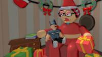 逃离恐怖老奶奶 恐怖老奶奶竟然变成了圣诞老奶奶 筱白解说