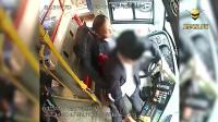 广东深圳一乘客抢夺公交车方向盘惊险一幕再次发生