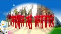 建群村广场舞《何时了却这牵挂》集体版编舞水蜜桃2018年最新广场舞带歌词