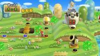 新超级马里奥兄弟Wii  3期 第1大陆 1-3关