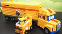 超级飞侠玩具多多卡尔叔叔的救援车厢
