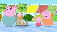 《英语小课堂》佩奇乔治最喜欢什么水果