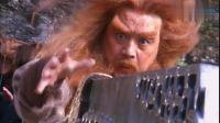 新版倚天屠龙记, 舞林大会谢逊抢屠龙刀, 金毛狮王变成棕毛狮王