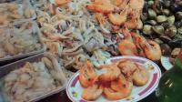 街头美食之日本街头美食海鲜煎蛋