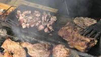 意大利米兰街头小吃之烤肉