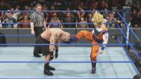 超级赛亚人悟空 VS 布洛克莱斯纳! WWE2K19