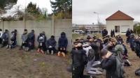 """武警逮捕抗议高中生 场面如""""行刑""""引公愤"""