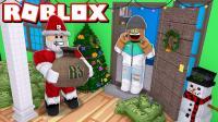 小飞象解说✘Roblox圣诞节大亨 圣诞老人小屋? 意想不到的礼物! 乐高小游戏