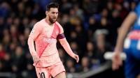 西甲-梅西任意球双响+助攻 巴萨客场4-0横扫西班牙人
