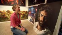 世界上最天才画家, 15岁赚百万, 称一切都是上帝指引!