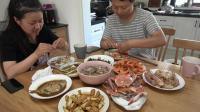 回家之后的第一顿正餐, 带大家看看我们宁波的家常菜是什么样的
