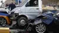 石家庄一奥迪车祸冲击行人致2死6伤