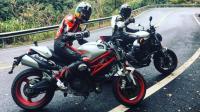 国产摩托车VS进口! 贝纳利752s和杜卡迪Monster795对比测试