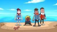 搞笑吃鸡动画: 霸哥小队往出生岛飞, 上面啥都没有, 导演都看不下去了