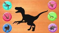 认识迅猛龙等6种恐龙