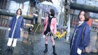 武汉街头实拍, 最后一位小姐姐的粉色外套求链接!