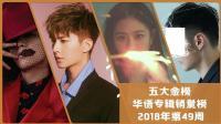 台湾华语专辑销量榜2018年第49周 年末发片潮将迎榜单大洗牌