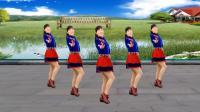玫香广场舞原创《男人醉女人累》32步附正背面教学, 2018最新广场舞
