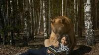 养了24年的大棕熊, 体重达到700斤, 熊还总觉得自己是个宝宝!