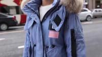 长款羽绒外套搭配选择, 保暖性很好, 百搭的版型
