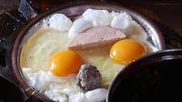 越南路边小吃美食火腿蛋砂锅面包, 越南街边最好的早餐